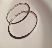 Accessorize Ear Hoops silver-colored