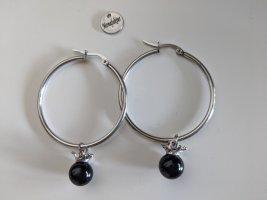 Ear Hoops black-light grey