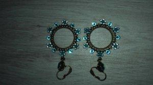 Konplott Ear Hoops baby blue glas