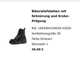 Croco Look Boots