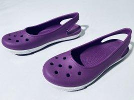 Crocs Comfort Sandals white-blue violet