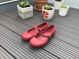 Crocs Tacones Mary Jane rojo