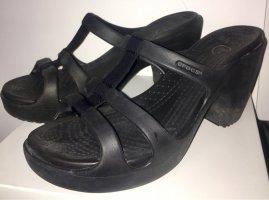 Crocs Sandalias de playa negro
