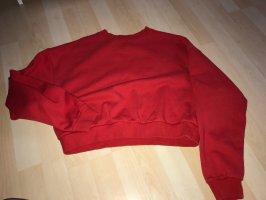H&M Camicia cropped rosso