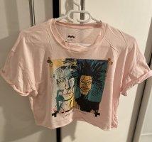 Billabong T-shirt court rose clair