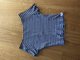 Pull & Bear Prążkowana koszulka Wielokolorowy