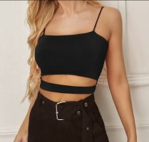 Crop Top mit Cut Outs