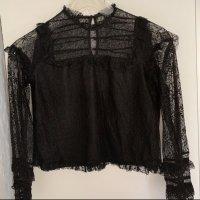 Zara Trafaluc Cropped top zwart