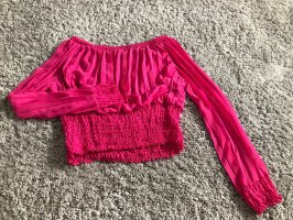 Crop Top Pink Grösse 36