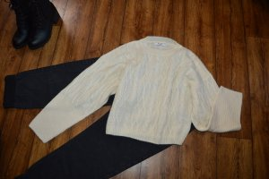 Cropped Cable Knitted Sweater Nakd Gr. 38