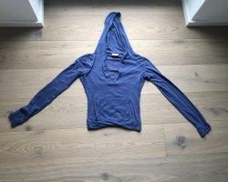 Replay Sudadera corto azul acero-naranja oscuro