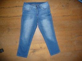 C&A 3/4-jeans blauw Katoen