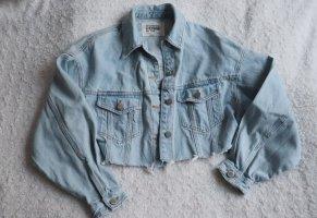 Cropped Jeansjacke von Zara