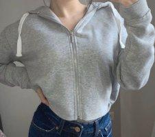 Cropped Kapuzen Pullover