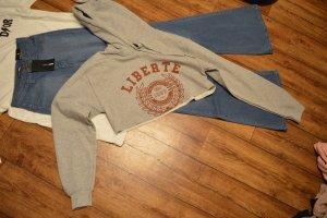 Cropped Kapuzen Sweater mit Druck Urtban Classics 38