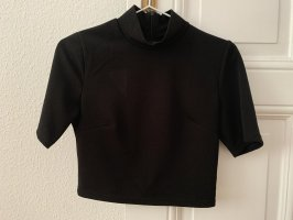 Fräulein Stachelbeere Cropped shirt zwart