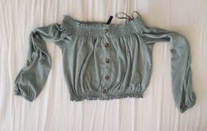 H&M Divided Camicia cropped menta