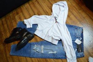 Cropped Sweat Jacke mit Kapuze 38/40 Pretty Little Think