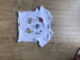 Bershka T-shirt court multicolore