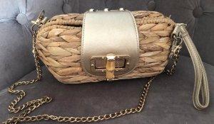 Impressionen Basket Bag gold-colored-oatmeal