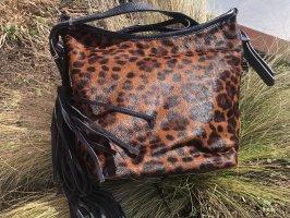 Crossbody Tasche mit Leo-Optik