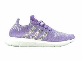Crystal Adidas Swift Run Luxus Sneakers mit Swarovski Elements Flieder Gr 40 2/3