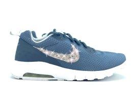 Crystal Nike Air Max Motion LW Luxus Sneakers mit Swarovski Elements Grau Gr 41