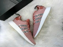 Crystal WMNS Adidas NMD R2 Luxus Sneaker Bling mit Swarovski Elements Ash Pink