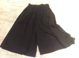Acne Pantalone culotte nero Viscosa