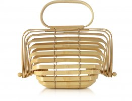 Cult Gaia Small Lilleth Bag in Natural