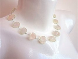 Culture Mix Shell Necklace white mixture fibre