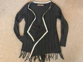 Culture Giacca in maglia antracite