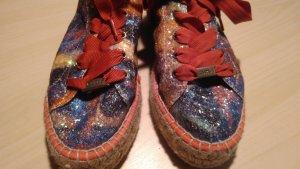 Cuplé Espadrille Sandals neon blue