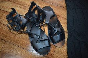 Only Romeinse sandalen zwart
