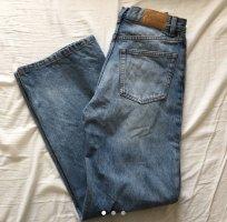 Monki Jeans a zampa d'elefante blu fiordaliso