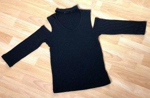 FB Sister Ribbed Shirt black