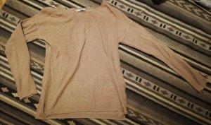 Pull & Bear Camisa acanalada rosa empolvado