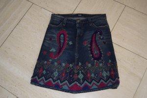 Dolce & Gabbana Denim Skirt multicolored