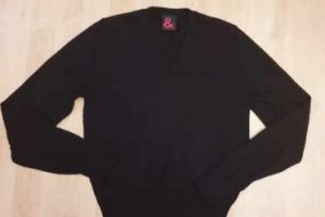 Dolce & Gabbana Wool Sweater black wool