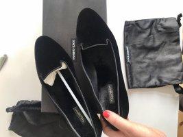 Dolce & Gabbana Ballerina's met kant zwart