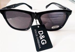 Dolce & Gabbana Hoekige zonnebril zwart