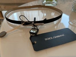 Dolce & Gabbana Waist Belt black-silver-colored