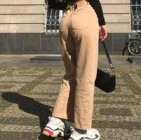 Pantalon boyfriend beige-beige clair