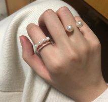 Daisy - 4 Perlenring (goldene Farbe)