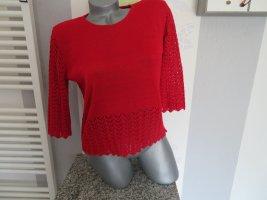 Damen 3/4 Arm Kurz Pullover Größe M (Nr1659)