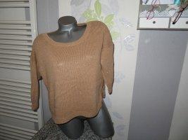 Damen 3/4 Arm Kurz Pullover Größe M von Mango (Nr740)