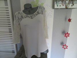 Damen 3/4 Arm Shirt mit Spitze Größe 46 von Paola (396)
