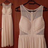 Damen Abendkleid Ballkleid Kleid NP 49,90 A-Linie Chiffon Netz