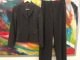 Review Pinstripe Suit brown-dark brown