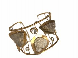 Damen Armband Armreif Gold Modeschmuck